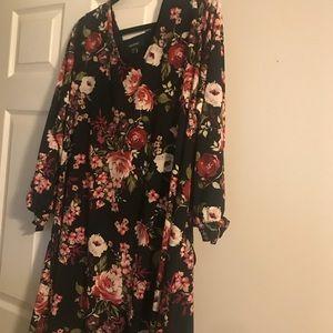 Karen Kane Plus Size Knee length dress